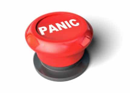 Botón de pánico en un sistema de alarma