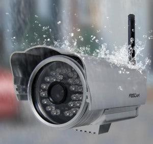 cámara wifi de exterior