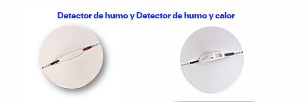 Detector de humo para la alarma de TYCO