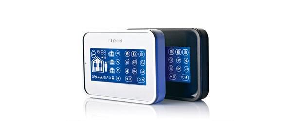 Teclado de pantalla táctil para su alarma Visonic